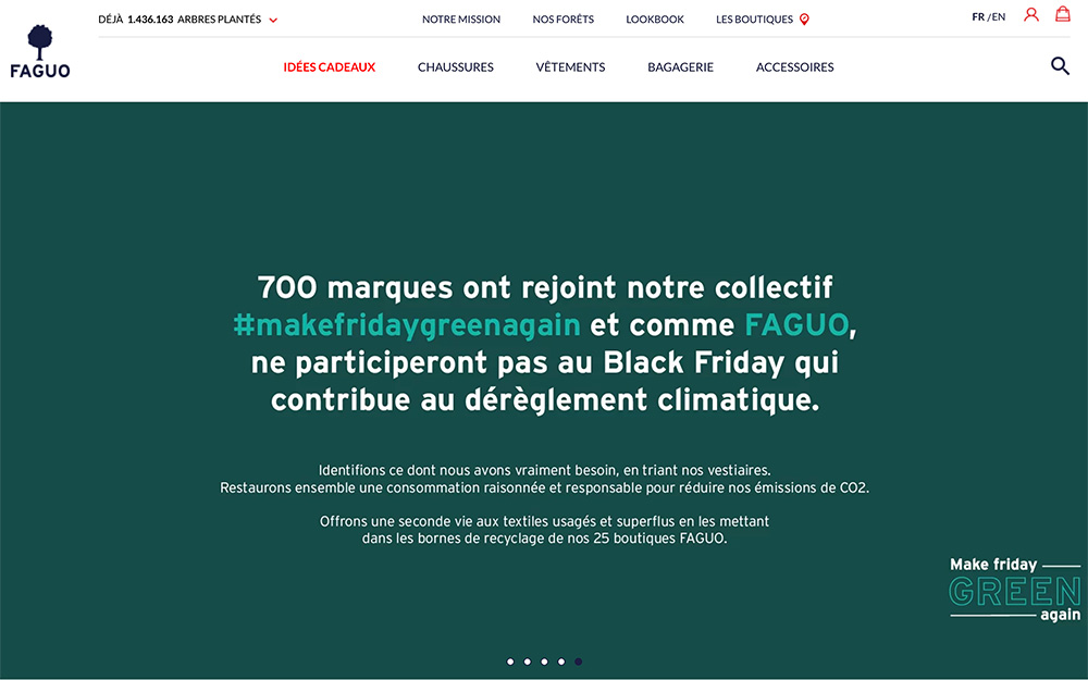 700 entreprises pour Make Friday Green Again